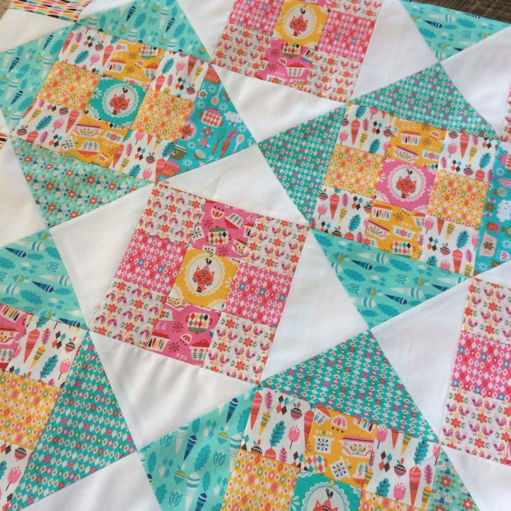Vintage Kitchen Blog Hop and Quilt Tutorial | Diy: Quilt | Pinterest ...