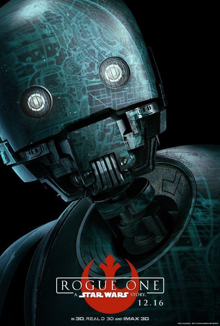 Rogue One Character Poster K 2so スターウォーズのポスター