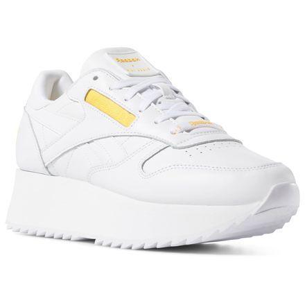 65f7247f877f0 Reebok Women s Classic Leather Double x Gigi Hadid in ~ Size 10.5 - Retro  Running Shoes
