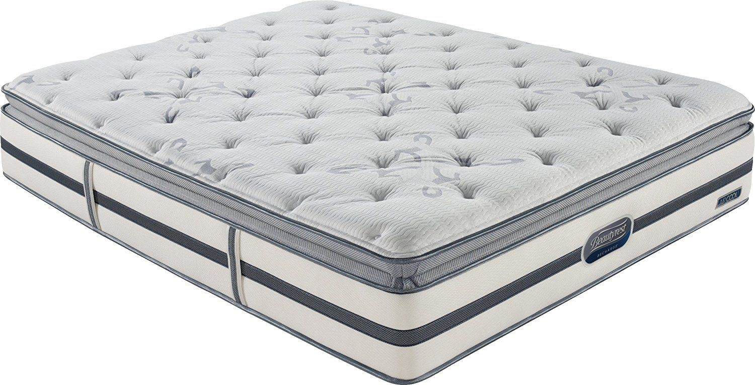 beautyrest recharge montano plush pillow top mattress queen all