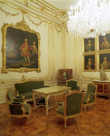 Castelo de Schönbrunn - Sala da Varanda