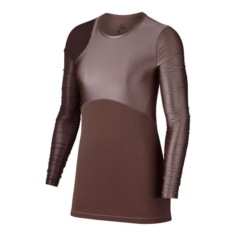 a732eb8decc8 Nike Pro Women s Hypercool Glamour Long Sleeve Shirt in 2019 ...
