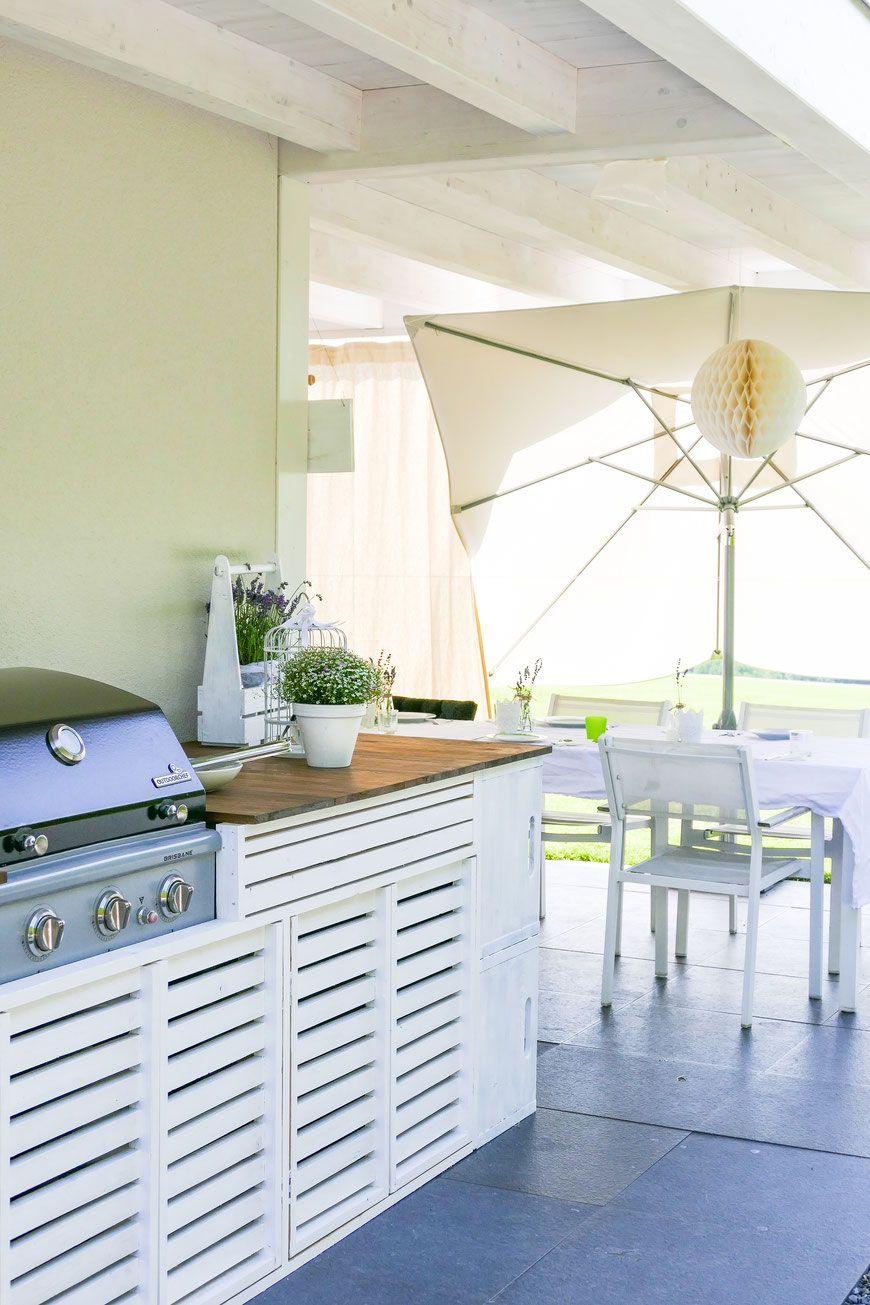 Outdoor Küche, DIY, selber bauen, Outdoor Kitchen, Anleitung ...
