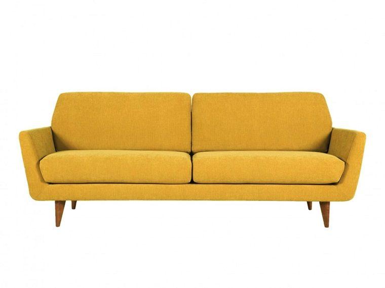 arredamento anni 60 sofa ocra casa sofa fabric sofa
