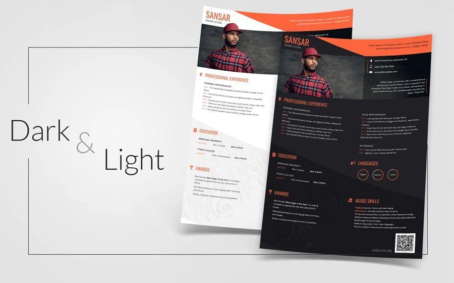 40 best 2020s creative resumecv templates printable