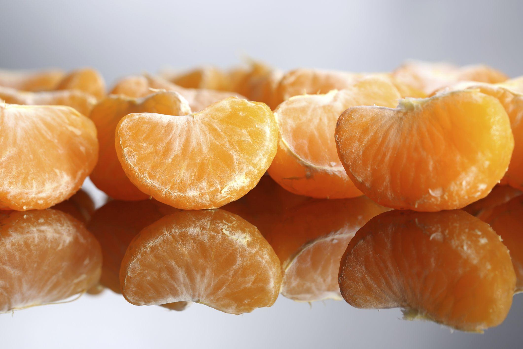 How to freeze oranges or tangerines fresh tangerine