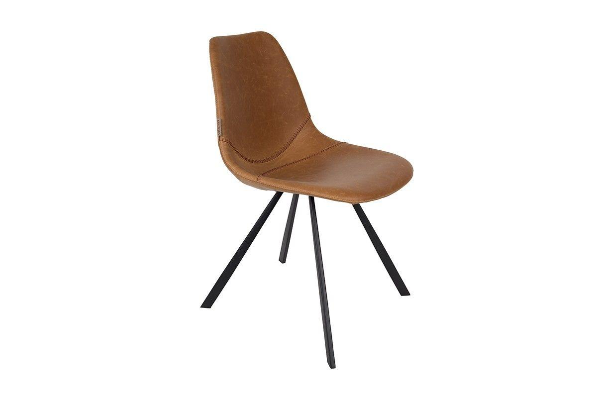 Cognac Kleur Stoel : Droomhout cognac kleurige stoel van dutchbone woonkamer