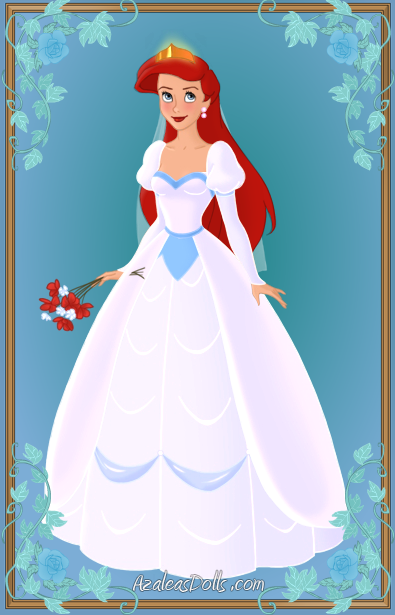 Ariel { Wedding Dress } by kawaiibrit on deviantART | Disney ...