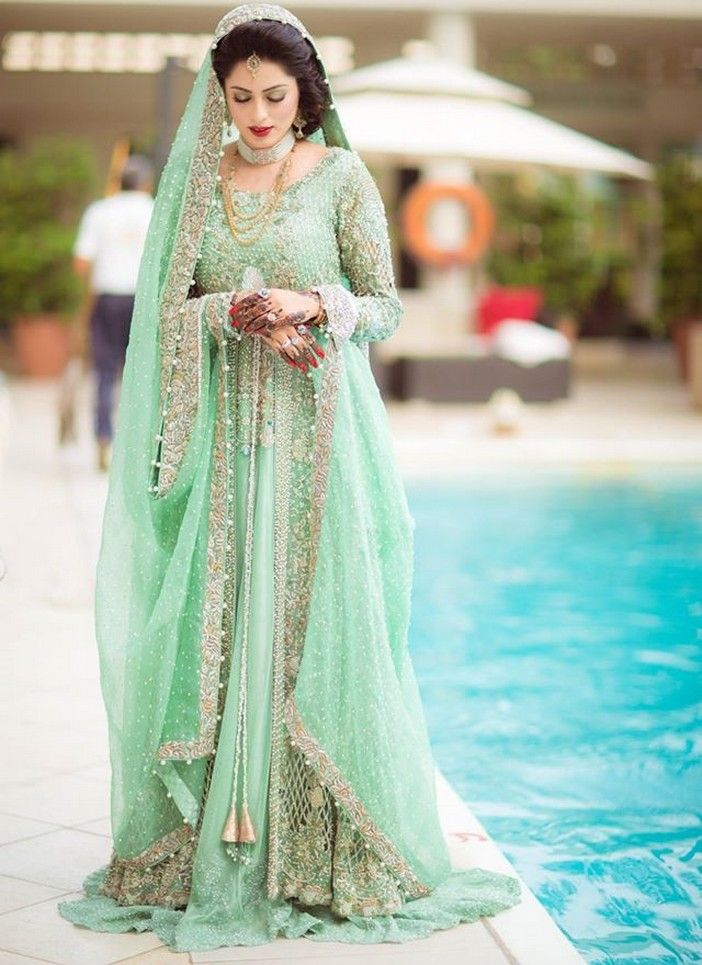 Latest pakistani wedding fashion 6