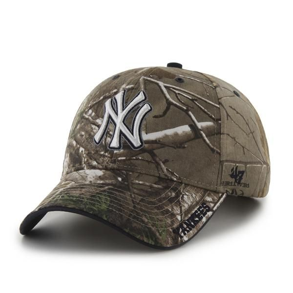 New York Yankees Realtree Frost Realtree 47 Brand Adjustable Hat 71f041e9f