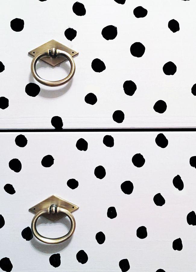 Spotted Dresser // Ikea Rast (the Hunted Interior)