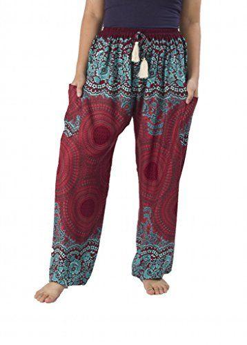Lannaclothesdesign Women's Rose Drawstring Side Pockets Boho Yoga Pants Regular Burgundy Lannaclothesdesign http://www.amazon.com/dp/B0182GLDAE/ref=cm_sw_r_pi_dp_Y4pTwb0A5CA25