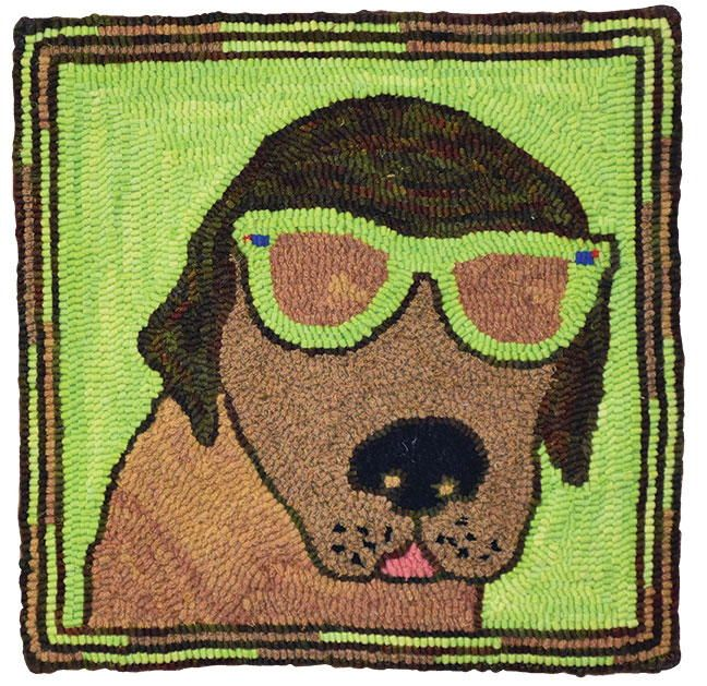 Exclusive Pattern: Dog With Sunglasses