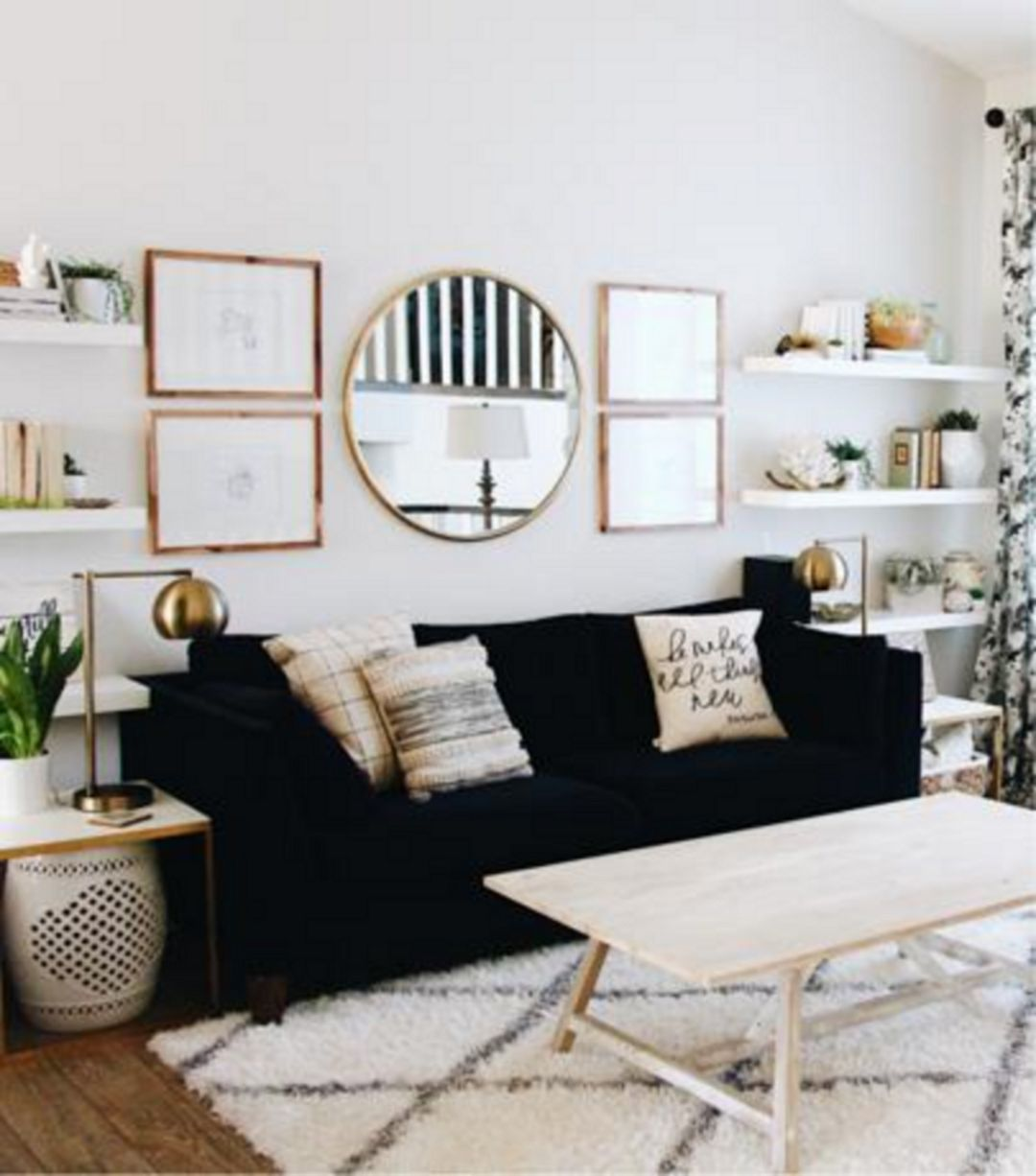 67+ Awesome Apartment Living Room Decorating Ideas On A Budget ...