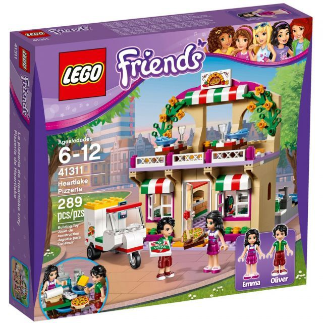 The LEGO® Friends 41311 Heartlake Pizzeria has all the equipment ...