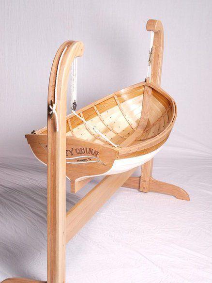 Traditional Boat Builders Baby Cradle By Deckerpair