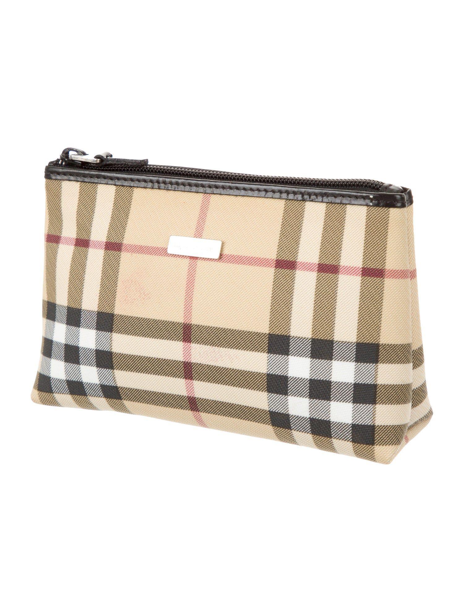 Burberry Nova Check Cosmetic Bag SPONSORED Nova