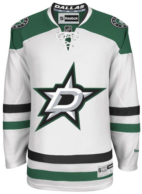 Dallas Stars Official Away Reebok Premier Replica Adult NHL Hockey Jersey 39643de9c