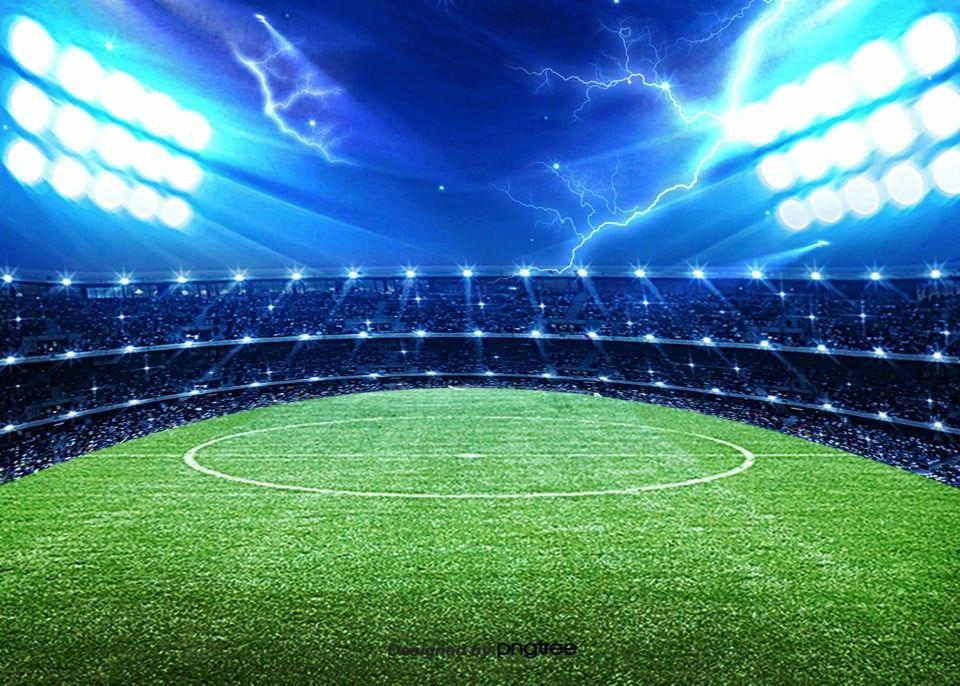 ملعب كره قدم Football Background Football Stadiums Stadium Lighting