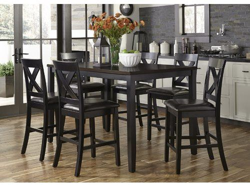 Nadine 7 Piece Pub Table Set | Products | Breakfast nook ... on montana home furniture, parker home furniture, kingston home furniture, jordan home furniture,