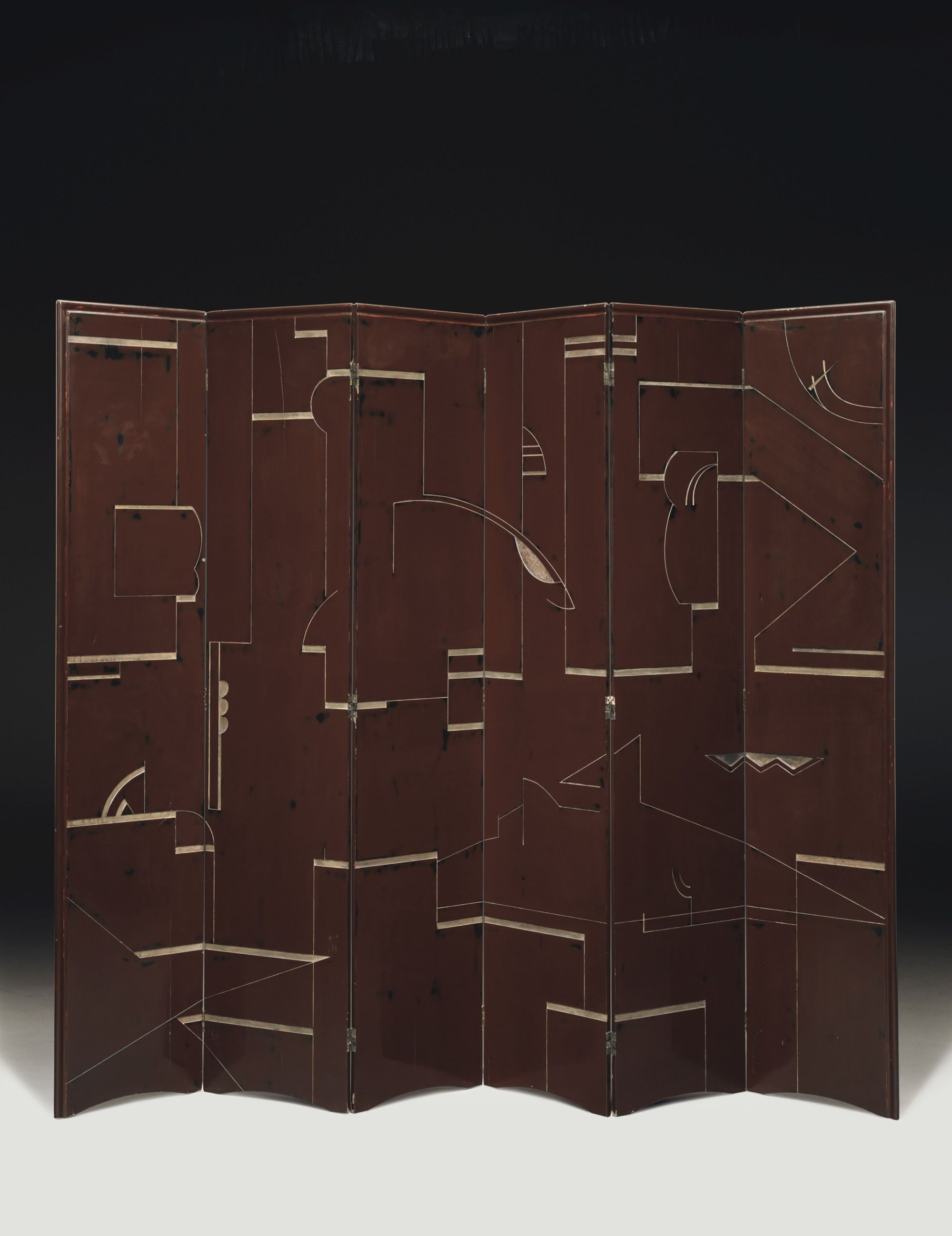Bauhaus Paravent Lacquer Screen By Eileen Gray At The Kelly Gallery Furniture