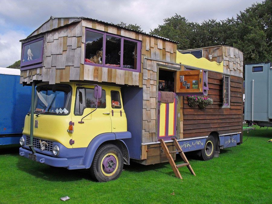 New Zealand house truck Tiny Houses Pinterest Tiny houses