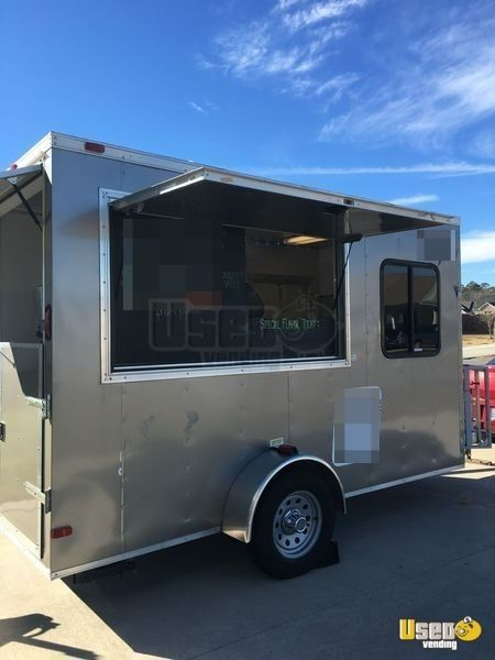 Food Trucks For Sale Near Me >> 2015 6 X 12 Food Concession Trailer For Sale In North
