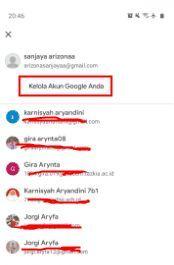cara ganti tanggal lahir di akun google
