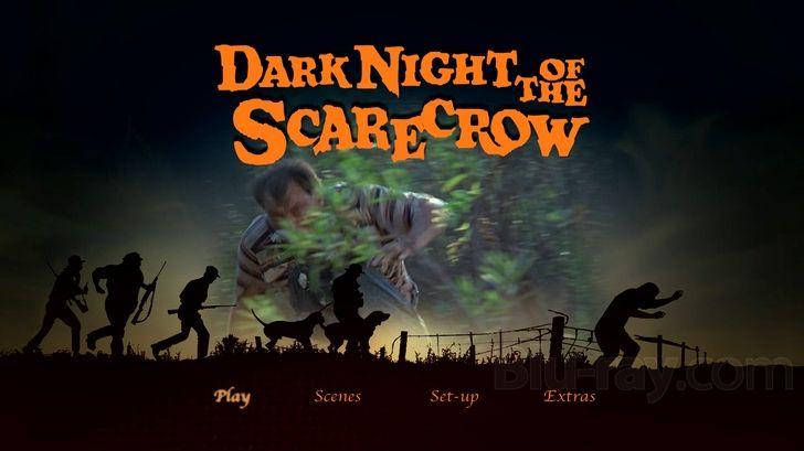 Dark Night Of The Scarecrow Dvd Menu Halloween Film Dark Night Scarecrow