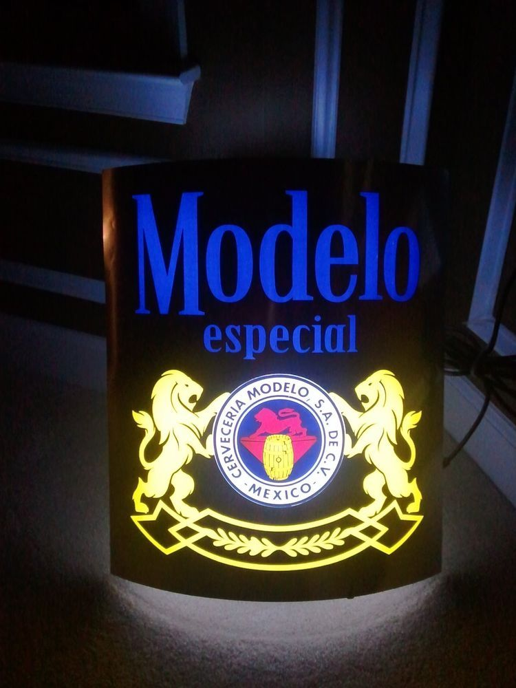 Modelo especial led neon beer light bar sign bar lights and bar modelo especial led neon beer light bar sign mozeypictures Images