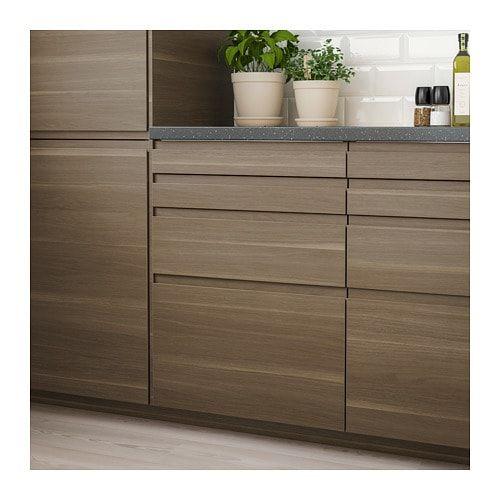 Ikea Kitchen Cabinet Refacing: VOXTORP Drawer Front - Walnut Effect In 2019