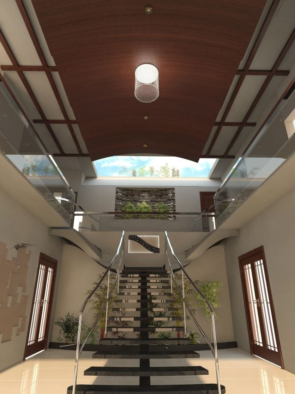 Stylish And Beautiful Stairs Designed By Pakistan S Leading