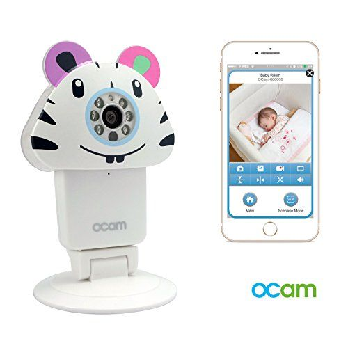 OCamZoo WiFi Wireless Baby Monitor Security Video Camera