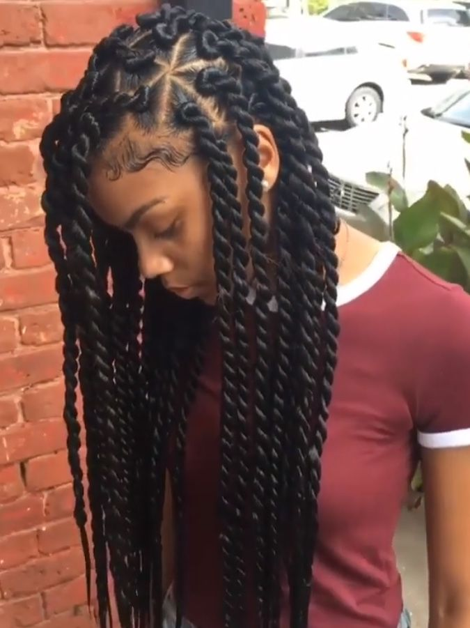 Fun Hairstyles With Box Braids You Can Try Hair Styles Long