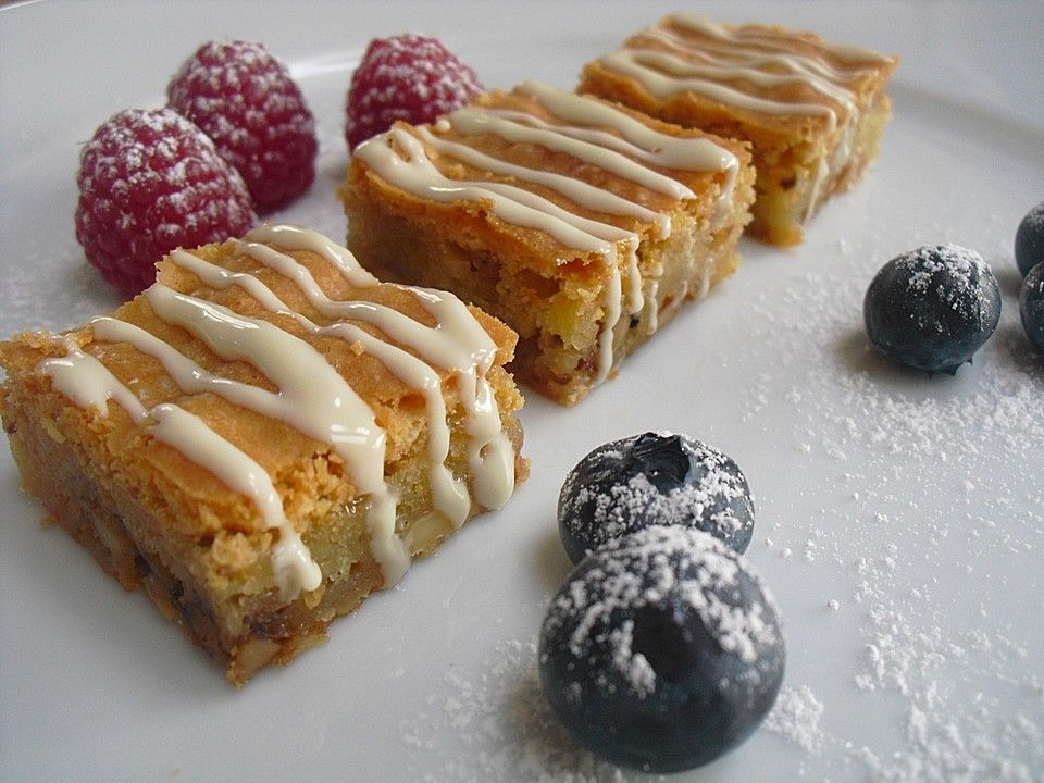 Brownies mit Walnüssen und weißer Schokolade (Rezept mit Bild) | Chefkoch.de