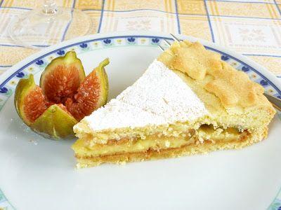 GOLOSA TENTAZIONE...: Crostata con crema alla vaniglia e fichi