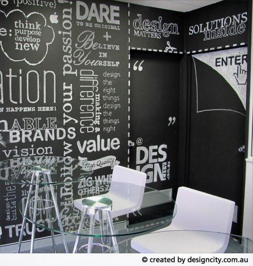 DesignCity Signage Chalkboard