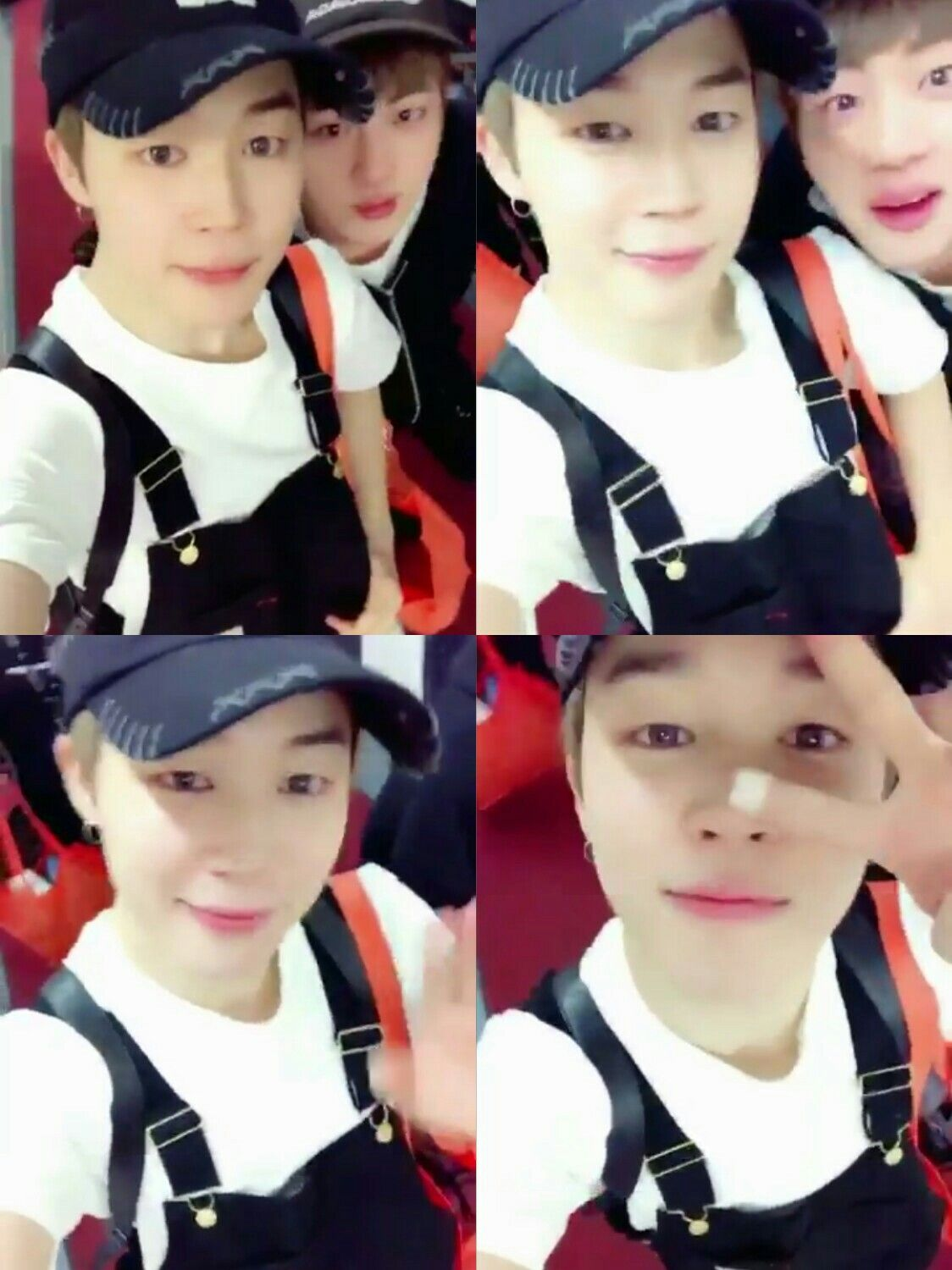 Jimin and Jin ❤ [BTS Trans Video Tweet] 오늘 엄청 신나는 하루였어요 고마워요 #JIMIN #Thanks_Newark / It was a really exciting day, today Thank you #JIMIN #Thanks_Newark (Thank you Seokmin!!! Our hardworking cutiess) #BTS #방탄소년단