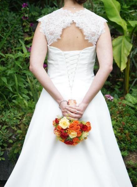 Brautkleid in Größe 36Farbe ivory (elfenbein)Marke/Hersteller ...