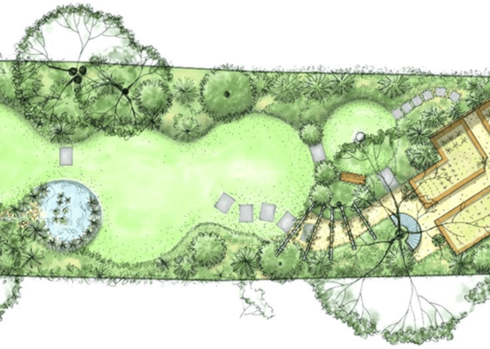 How To Create A Landscape Design Blueprint For Your Yard Narrow