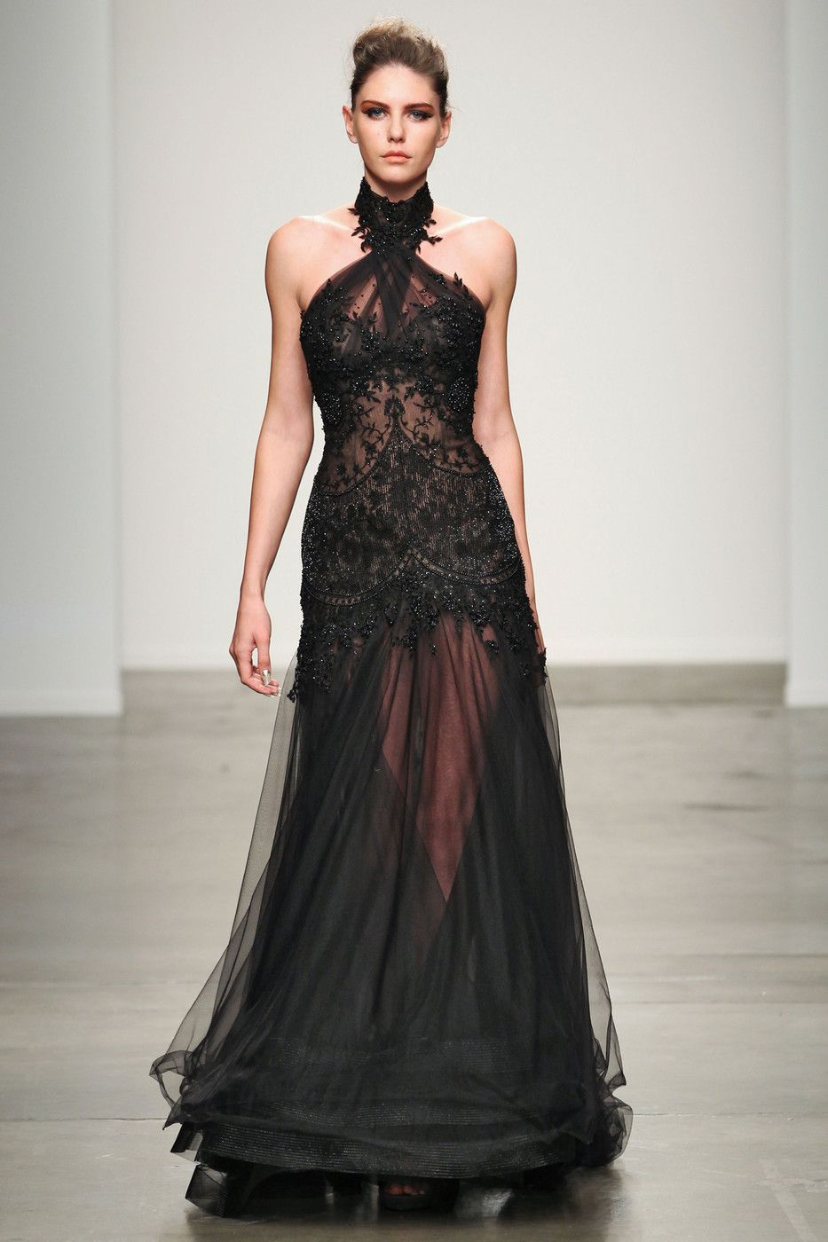 9e3198bd2833d0 zen and the art of darkness   Gorgeous black lace dress   Fashion ...