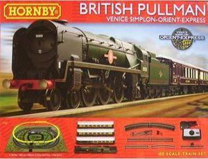 The Hornby British Pullman Venice Simplon Orient Express