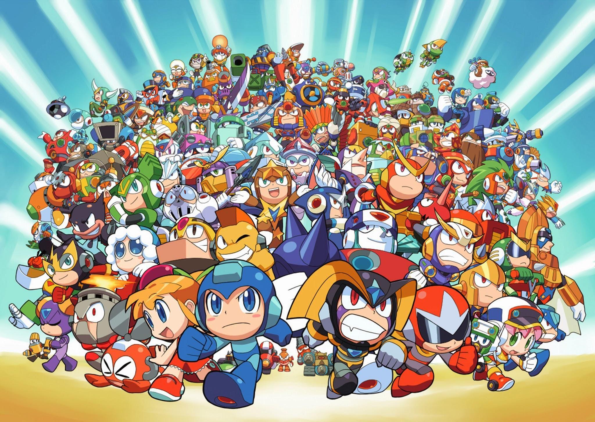 Image 716229 Mega Man Rockman Mega Man Mega Man Art Chibi