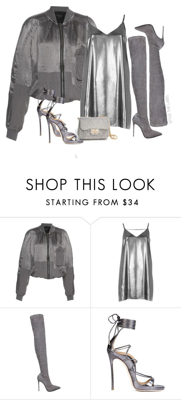 """""""STYLE THE LOOK 27"""" by stylethelabel ❤ liked on Polyvore featuring Maison Rabih Kayrouz, River Island, Le Silla and Dsquared2"""