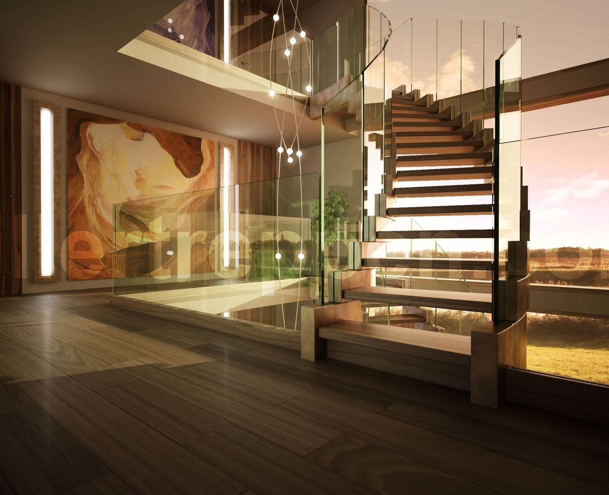 Best Scale In Cemento Staircase Design Modern Stairs Modern 640 x 480