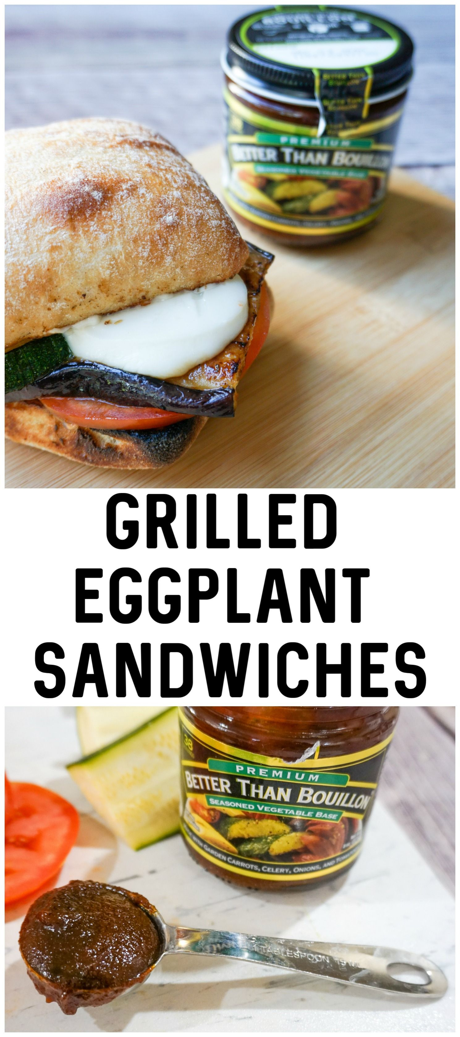 The Best Grilled Eggplant Sandwich Recipe Ever