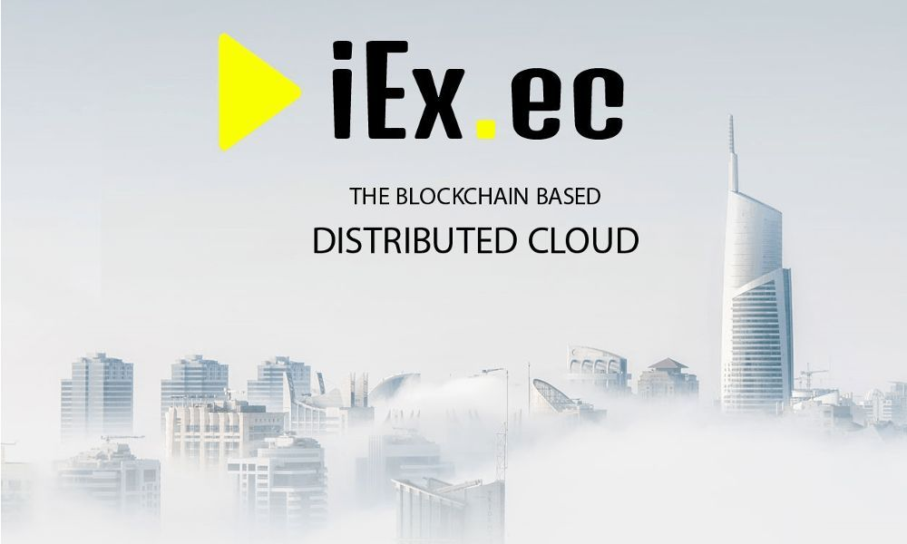 iEx.ec Announces Its Cryptocurrency Crowdsale to Launch the First Distributed Cloud Platform {bitcoin earn|bitcoin mining|bitcoin trading!bitcoin platform}
