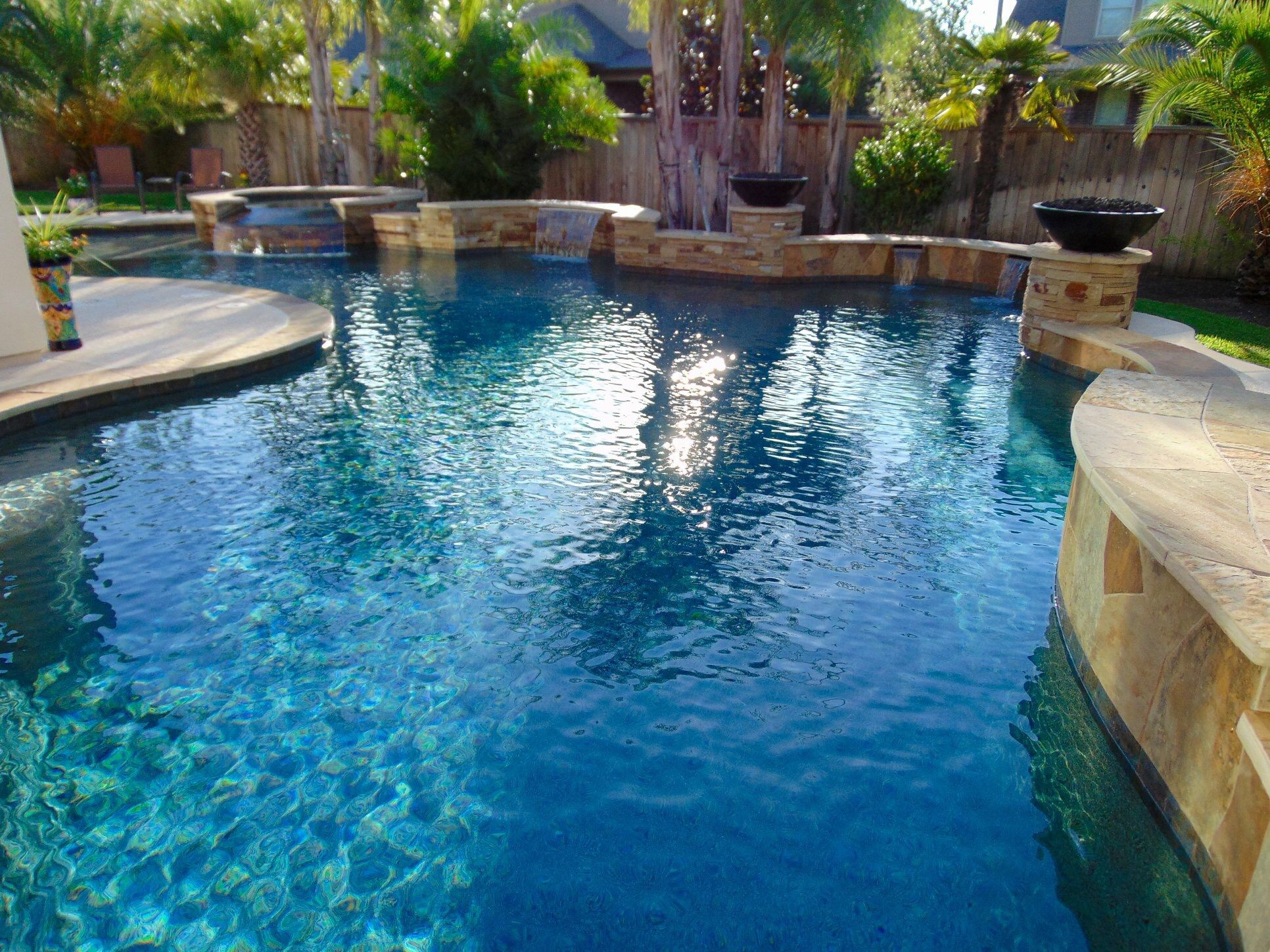 Custom pools image by Backyard Oasis, Inc. on Backyard ...