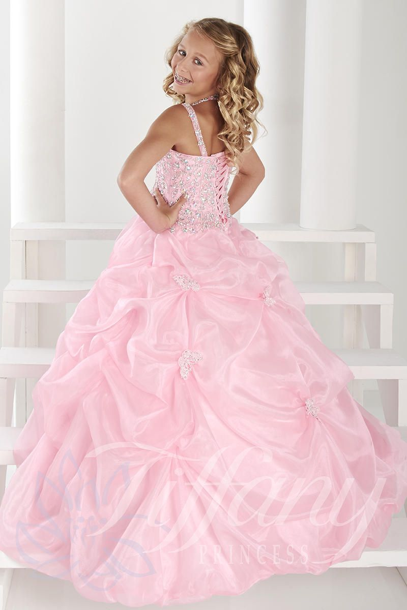Tiffany Princess Pageant Dress Style 13410 | Girls Pageant Dresses ...