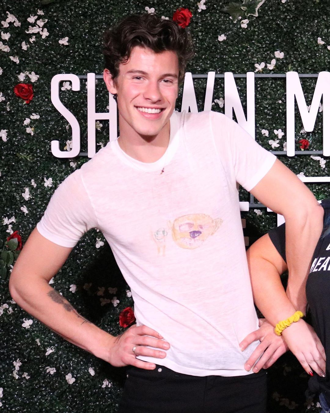 Shawn Mendes Butterfly Tattoo: #ShawnMendesTheTourMilwaukee M&G Photos